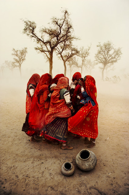 Dust Storm, Rajasthan © Steve McCurry