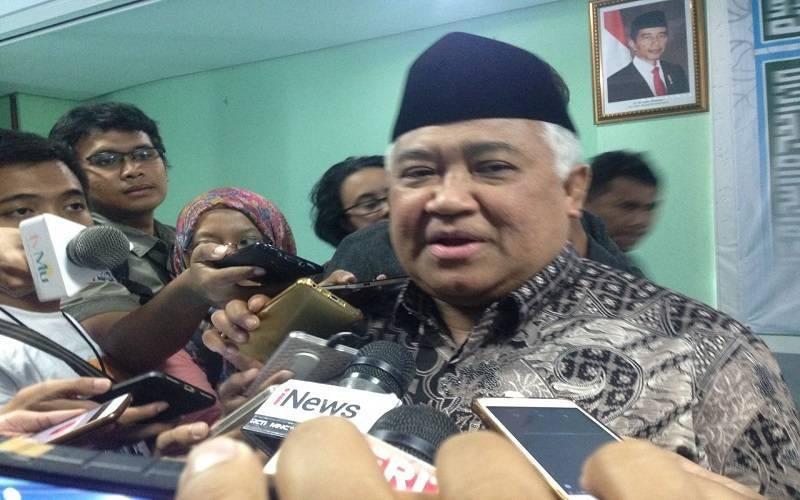 Din Syamsuddin Nyatakan Siap Jadi Cawapres Jokowi, Tapi...