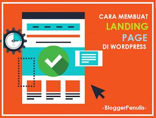 Cara Membuat Landing Page dengan Wordpress Pakai Template Gratis