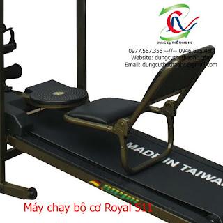 Máy chạy bộ cơ royal 511 hà nội