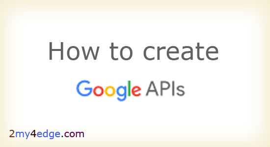 How to create google map API