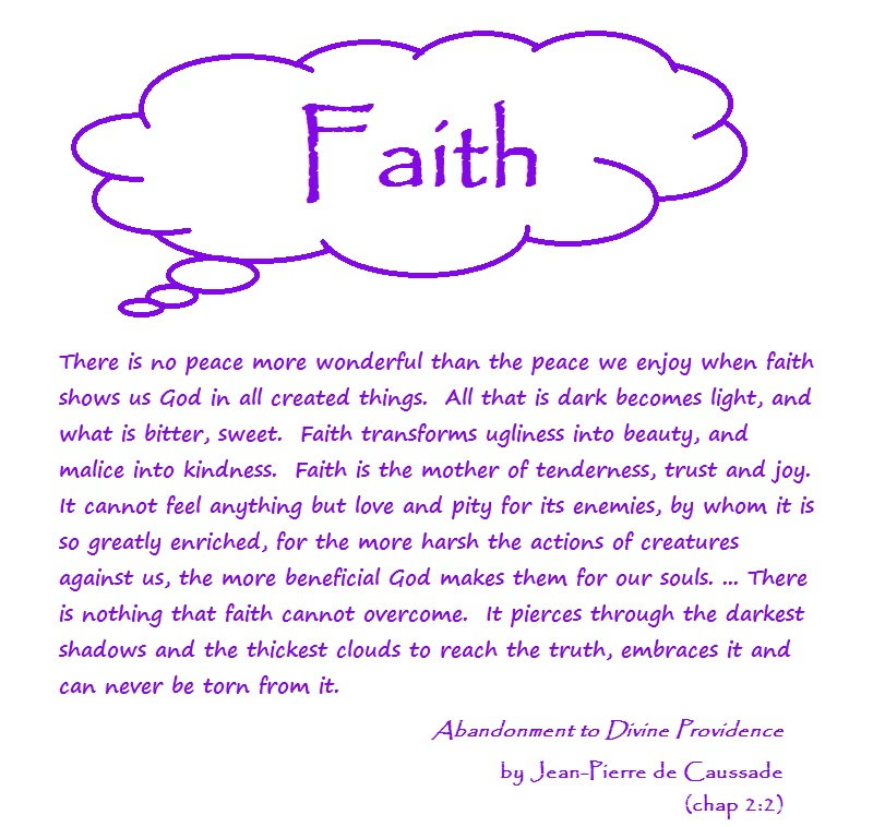 Essay on faith
