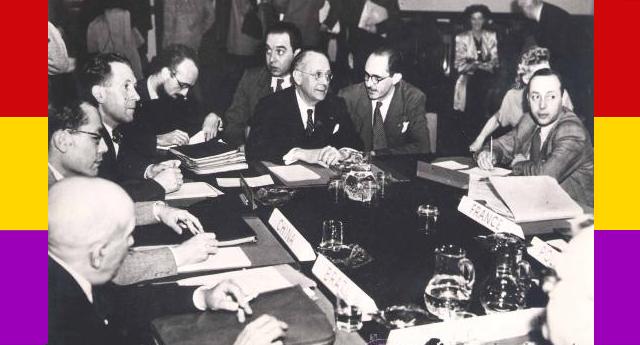 José Giral presidente de la República en el exilio 1946