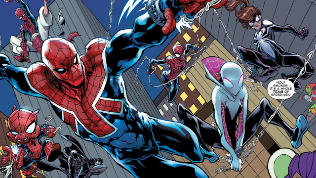 jenis-jenis spiderman spiderverse
