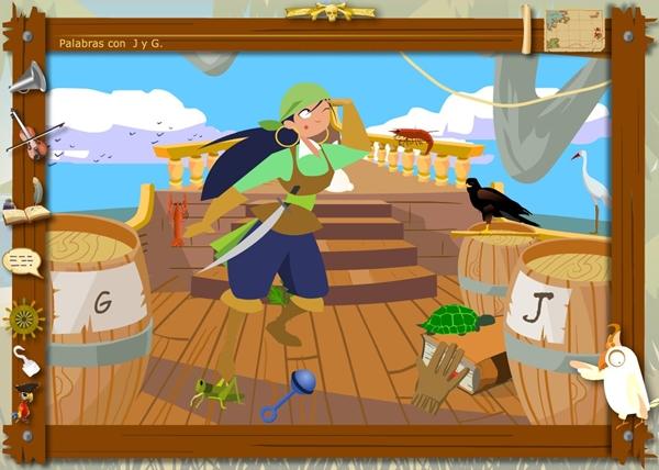 """Los Piratas de la Ortografía: Uso de """"j"""" y """"g"""""""