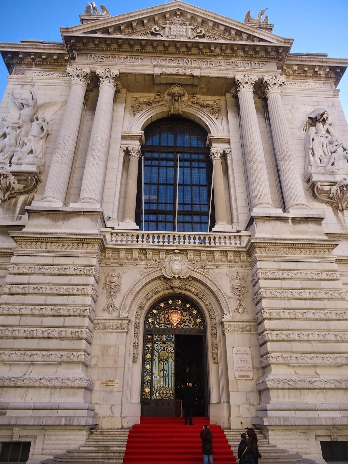 Monaco Oceanographic institute Albert Prince