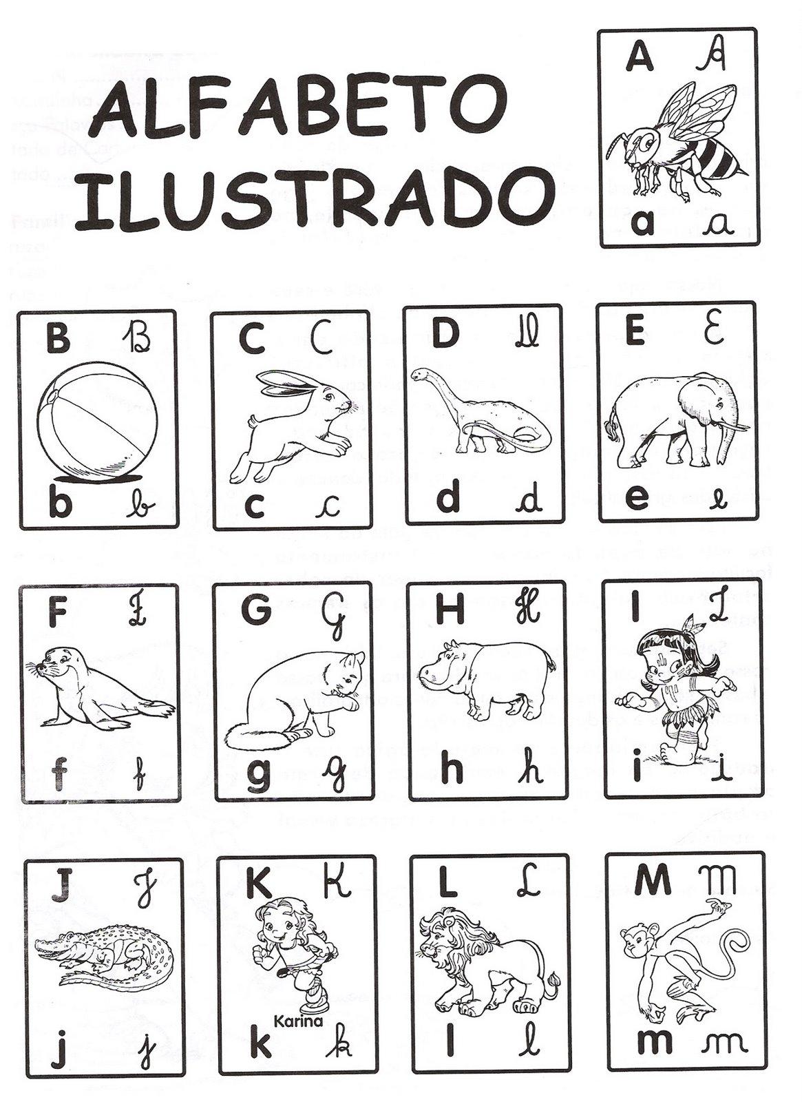 Mini Alfabeto Ilustrado