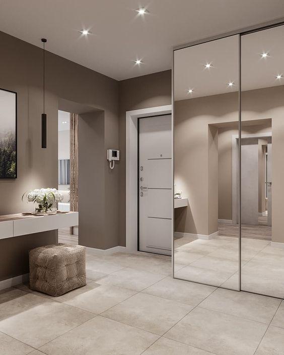 Modern wall mirror design ideas for living room wall ...