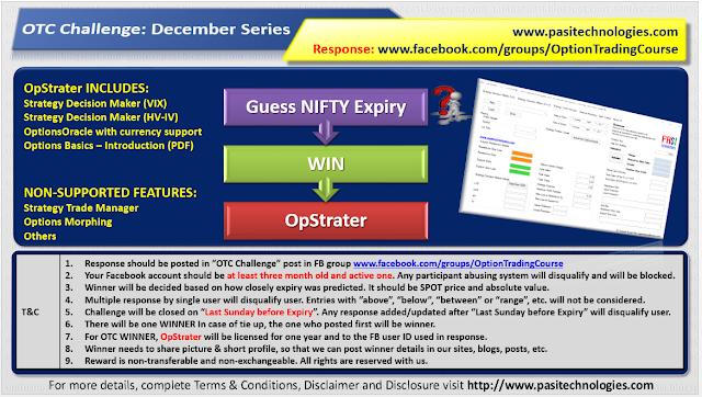 OTC Challenge: December 2018