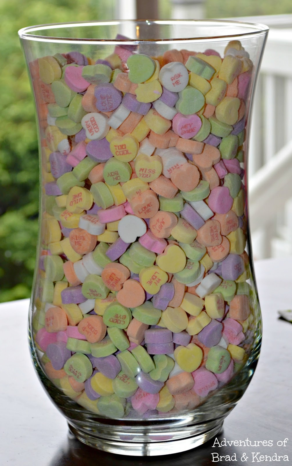 Valentine S Day Conversation Heart Vase