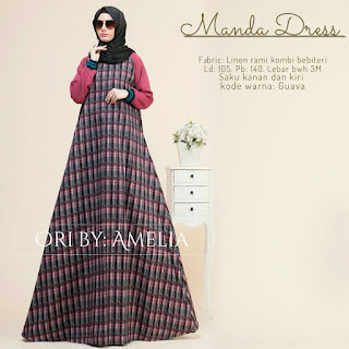 Manda Dress by Amelia Hijab