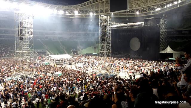 Show de David Gilmour em São Paulo, dezembro de 2015