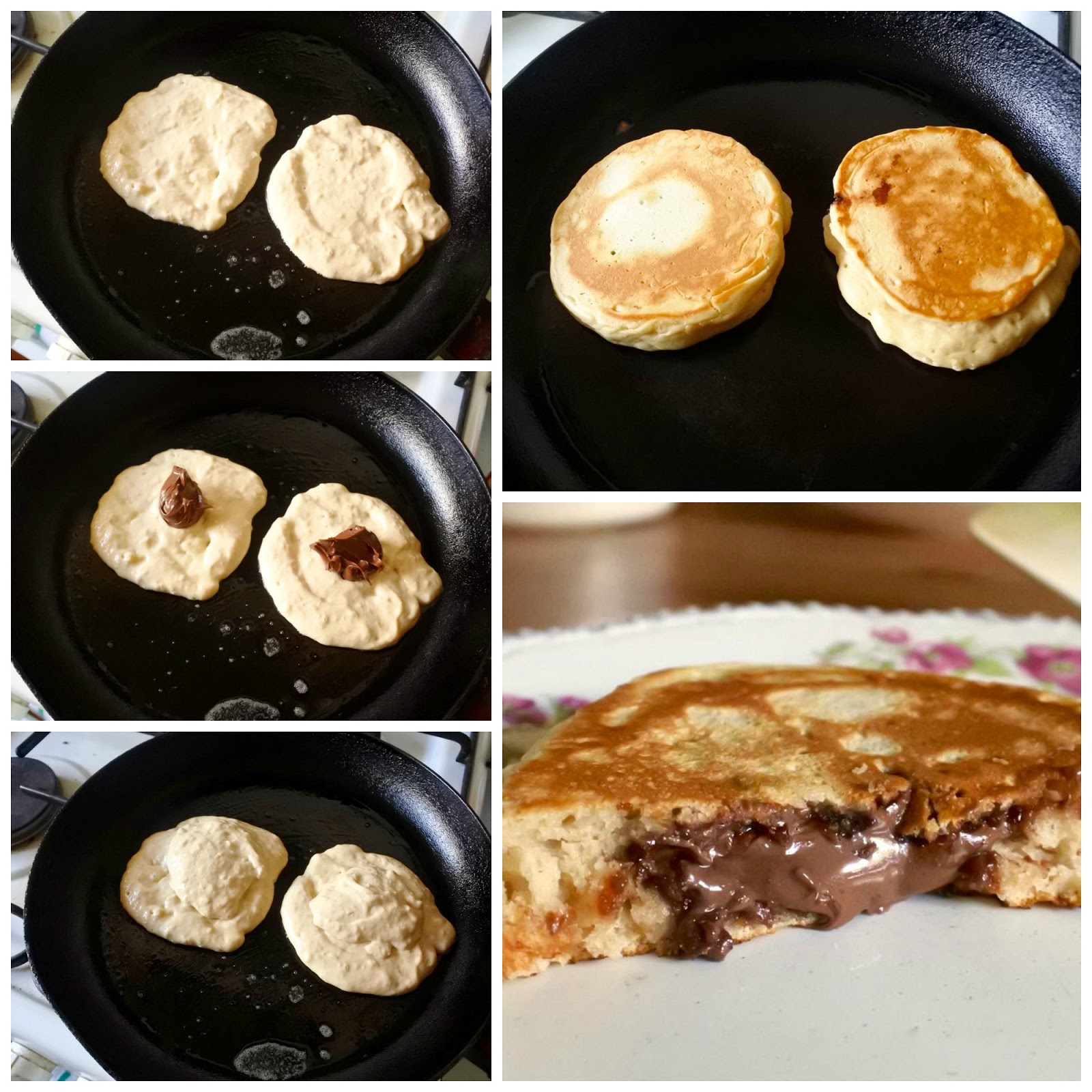 Green gourmet giraffe nutella stuffed pancakes eggless with vegan last winter i first tried making these stuffed nutella pancakes with a favourite banana oat pancake recipe with nutella in the house this weekend ccuart Images
