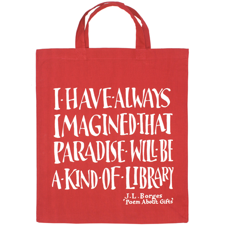 e055bca55d Great new book bags from the Literary Gift Company –