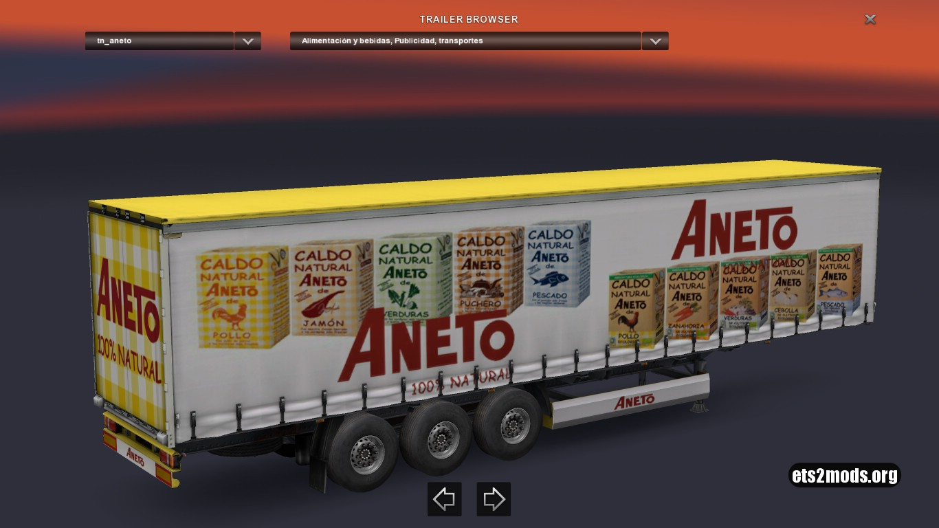 Trailer Aneto