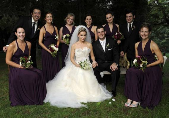 94f36e67ce6 Alyssa Milano s bridesmaids wore twobirds at her 2009 nuptials and many  non-celebrity brides are following suit. This convertible dress ...