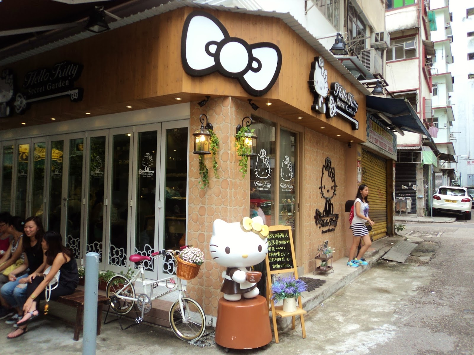 Hong Kong 2014: Hello Kitty Cafe