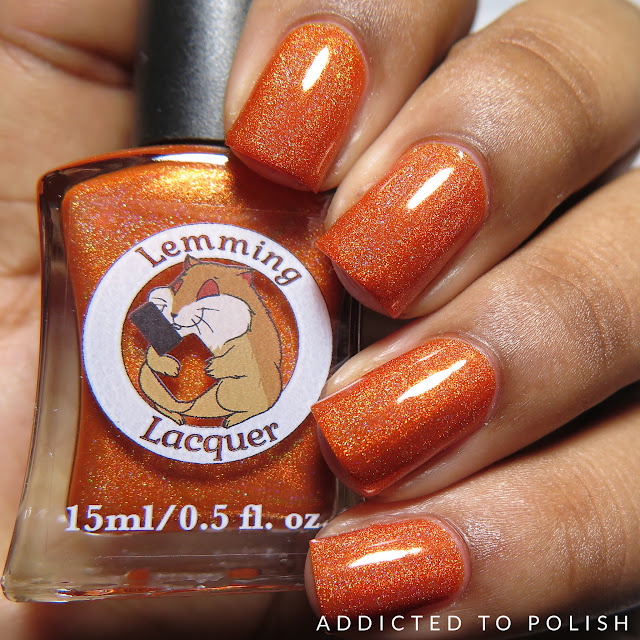 Lemming Lacquer Danger Zone