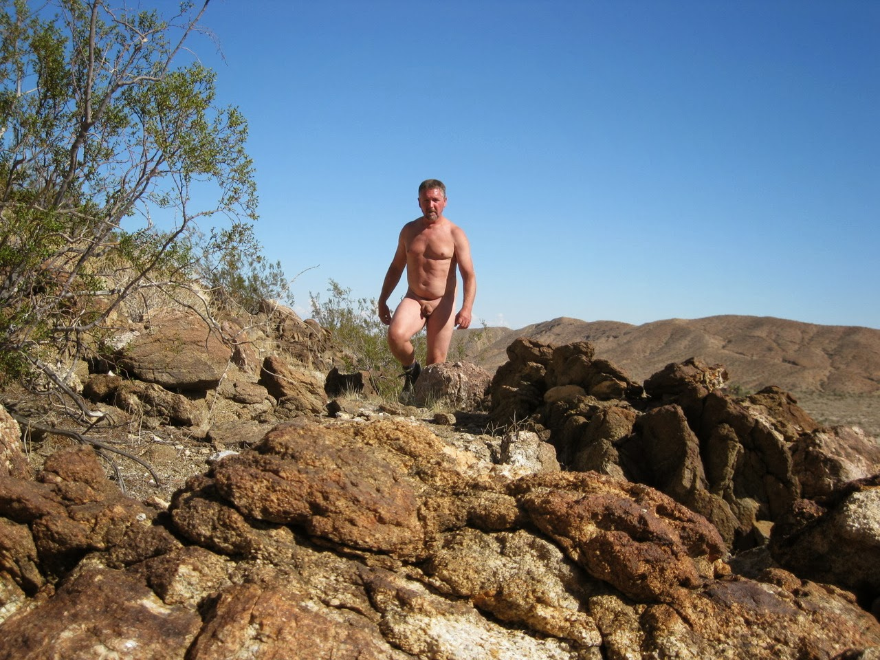 Apologise, Women nude desert hiking pity, that