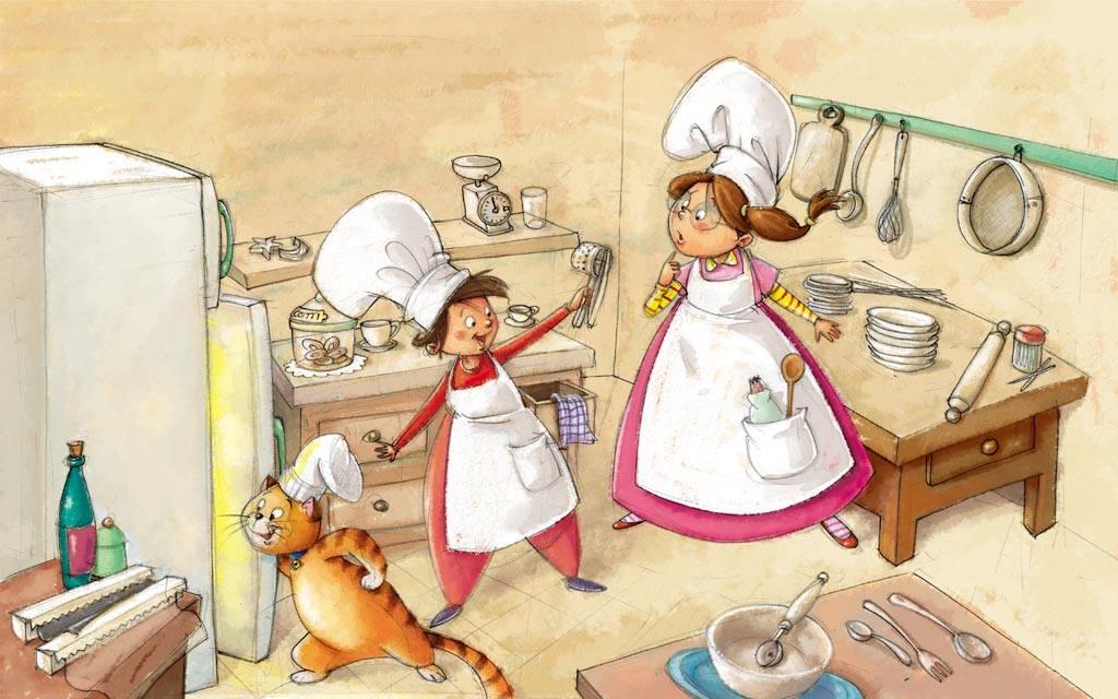 Sogni golosi di una piccola cucina naturale corsi di for Corsi di cucina per bambini