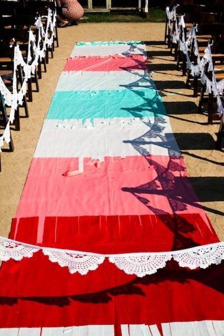 tapis église couleur  diy