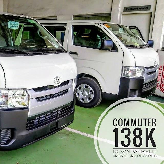 2017 Hiace Commuter 3.0L - 138K DP All-In!