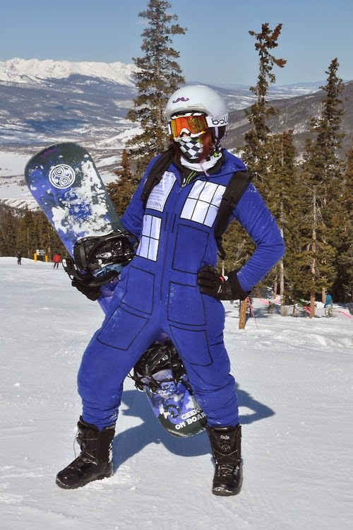 Pity, Sex on a snowboard