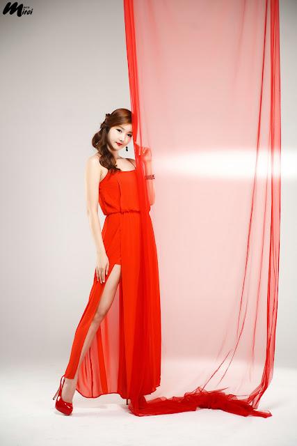 xxx nude girls: Han Song Yee - Hot Red