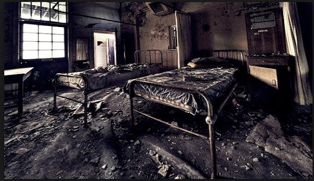 Setelah Beberapa Hari di Opname, Ternyata Rumah Sakitnya sudah Tidak Dipakai