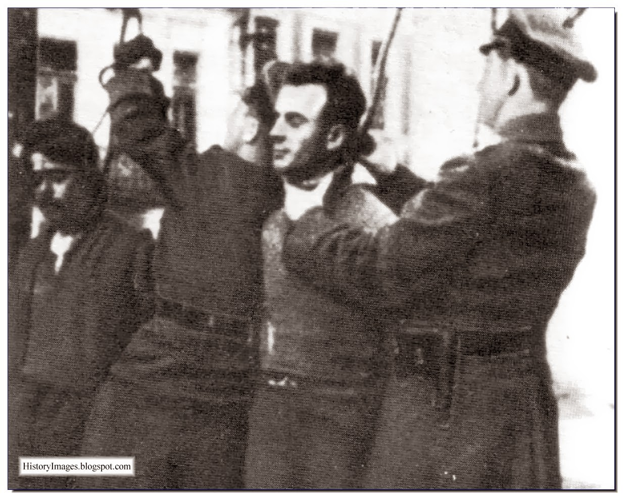 Soviet citizens  hanged by  Germans Rare WW2 Images
