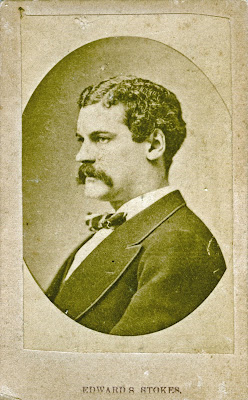 This Recently Acquired Carte De Visite Of Playboy Edward S Ned Stokes Completes The Set Principals In 1872 Murder Jim Fisk Americas Most