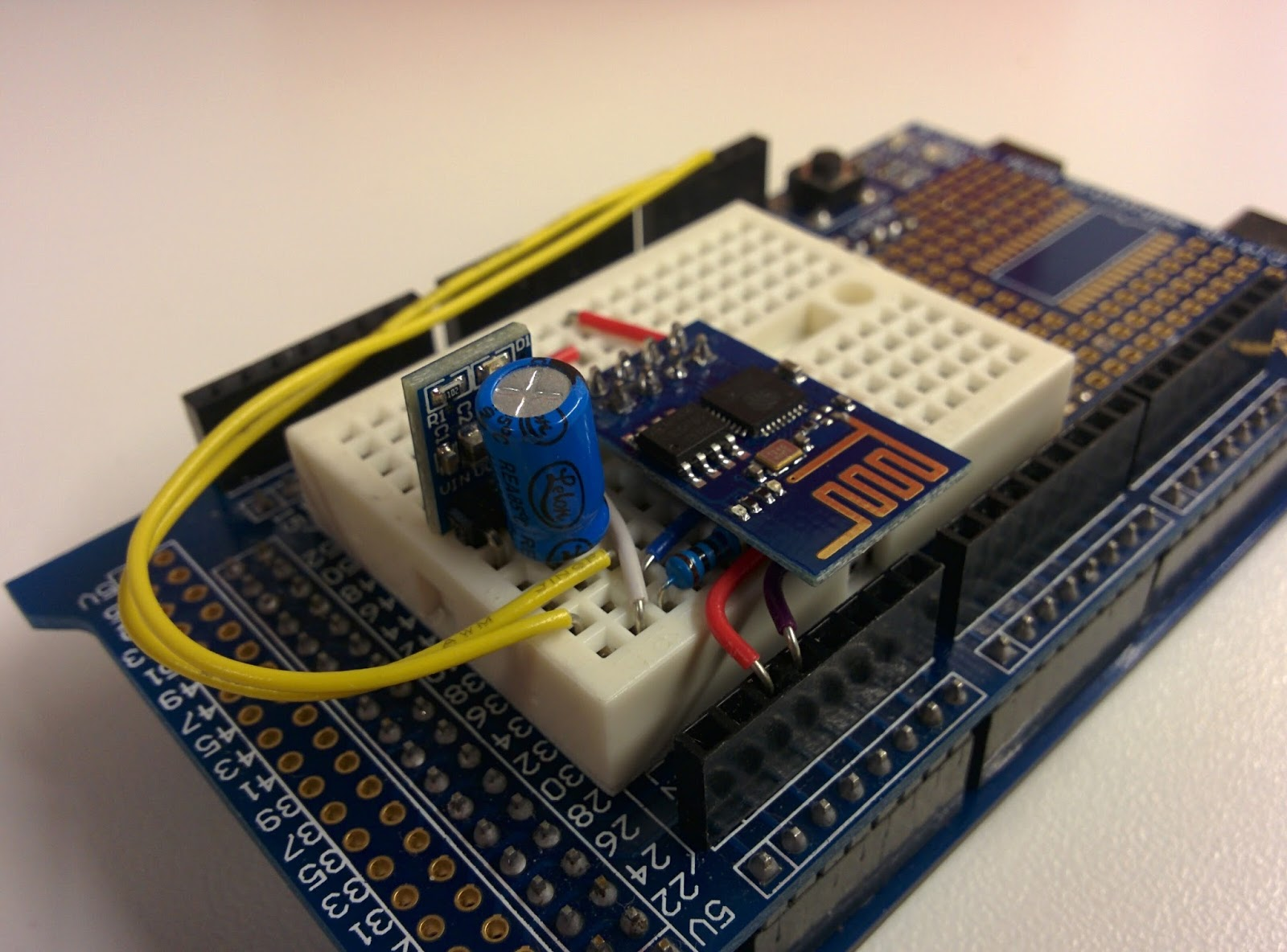 Cheap Arduino WiFi Shield with ESP8266-01 - Yet Another