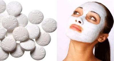 aspirine pour faire un masque exfoliant
