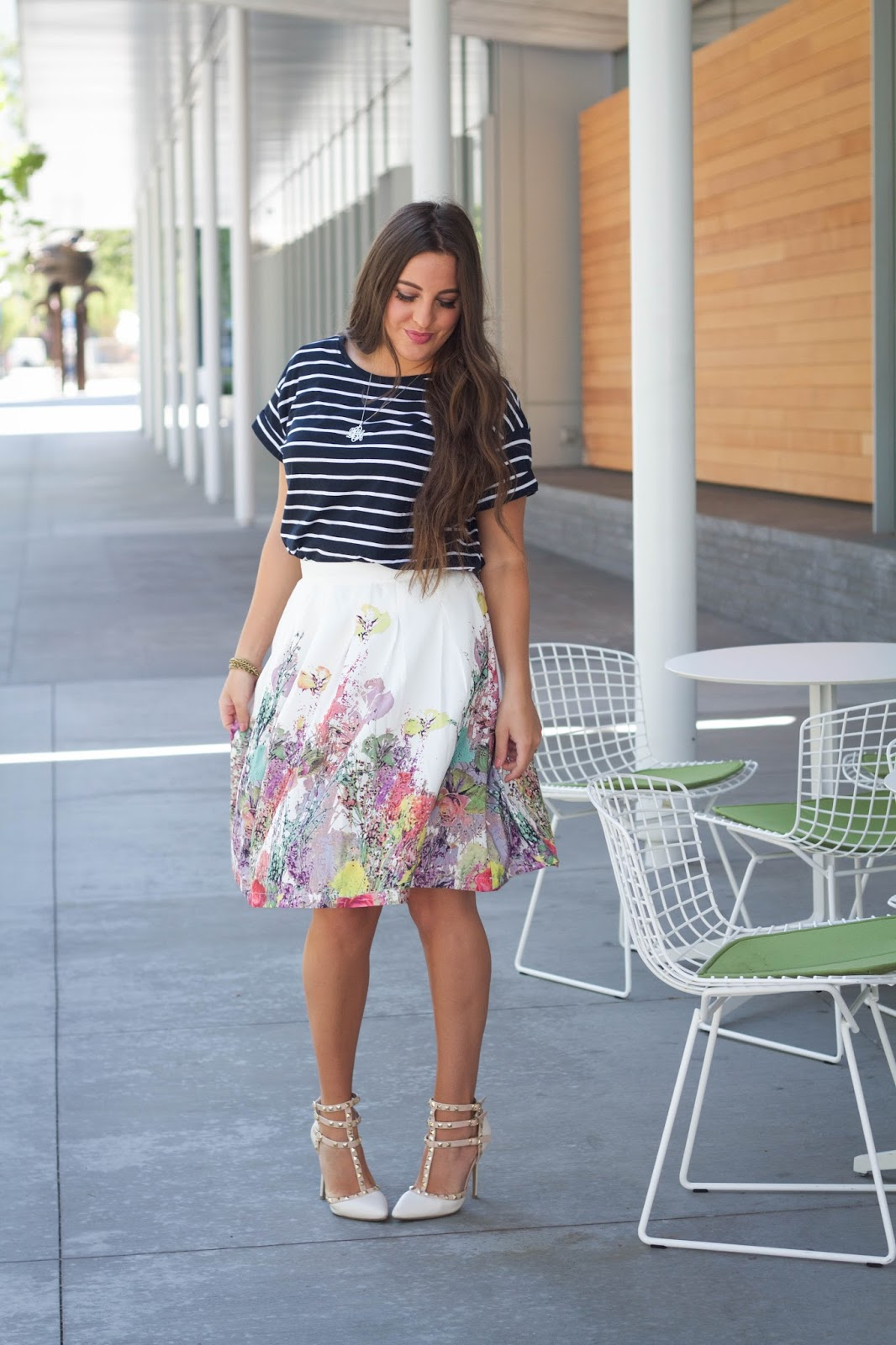 f719f680876e2b Top: H&M // Skirt: Bohme // Heels: Forever Young Shoes Photos by Brittany  Ting