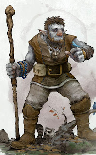 Like a Firbolg - Touched for the very first time.