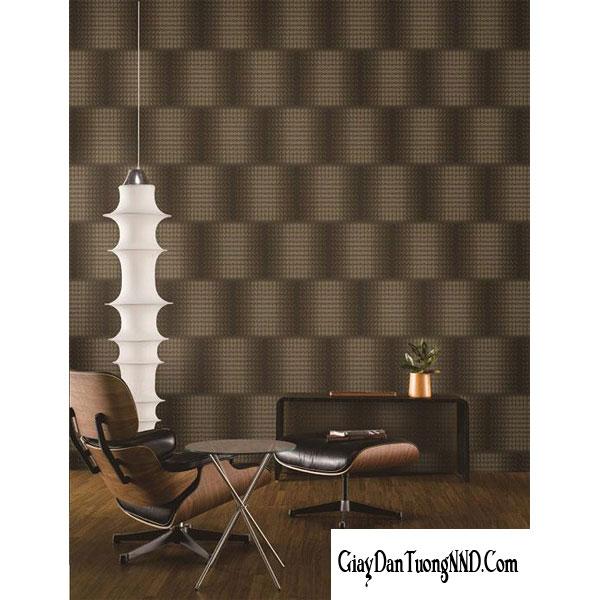 giấy dán tường 3D làm điểm nhấn cho phòng khách