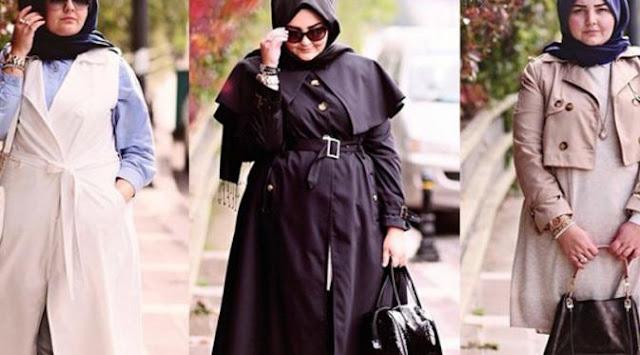 Cara Berpakaian Muslimah untuk Wanita Gemuk Agar Terlihat Ramping