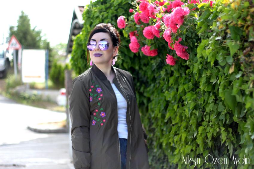 alışveriş-Nakışlı Mont ve Mor Botlar-moda blogu-moderya-amiclubwear-fashion blogger