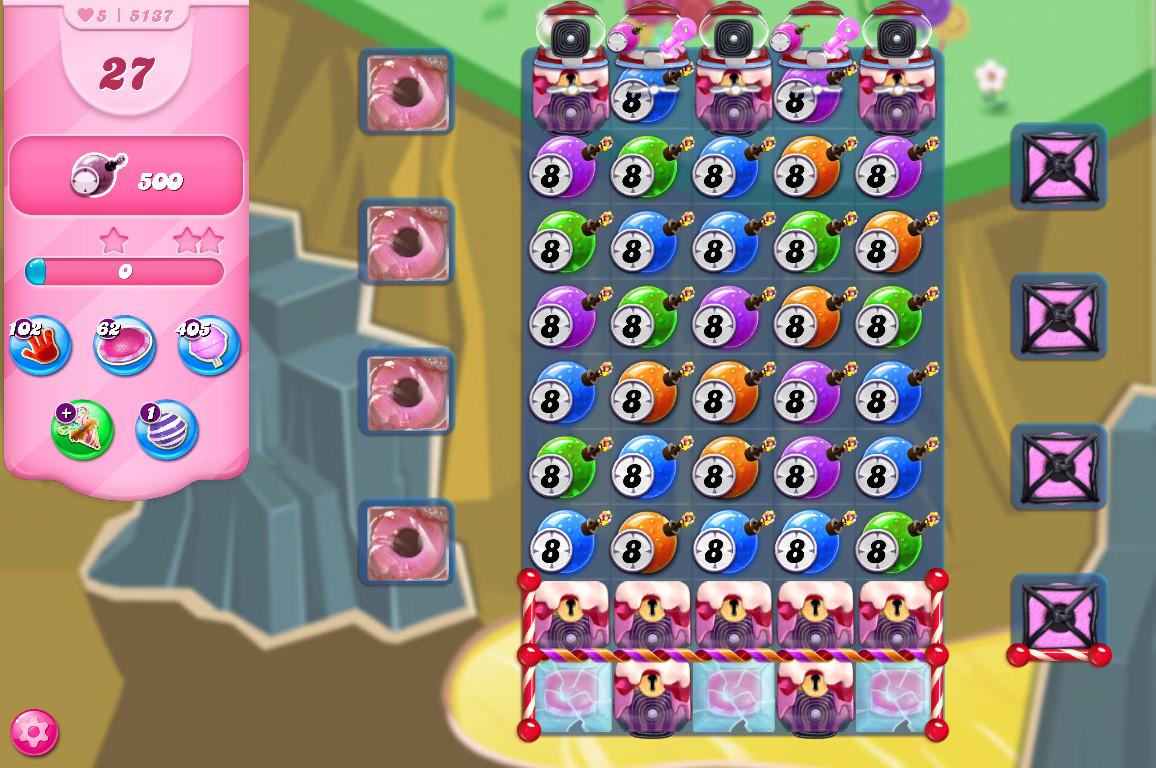 Candy Crush Saga level 5137