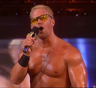 WCW Starrcade 1999 - Jeff Jarrett answered Chris Benoit's challenge