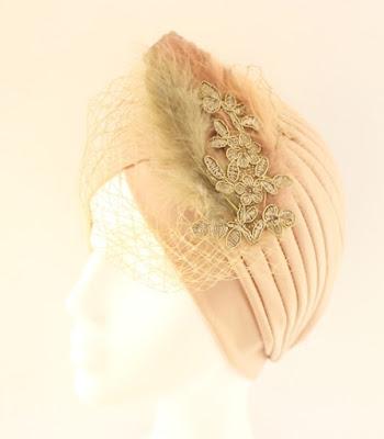 OI 1617 - Coleccion Cobre Pasamaneria - Turbante