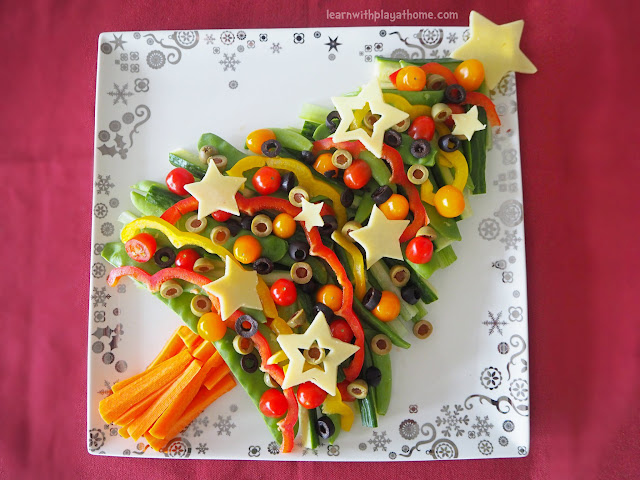 Learn With Play At Home: Healthy Veggie Christmas Tree