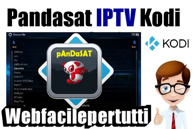 IPTV Pandasat Kodi Add on