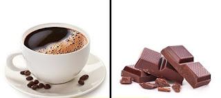 القهوة والشكلاطة