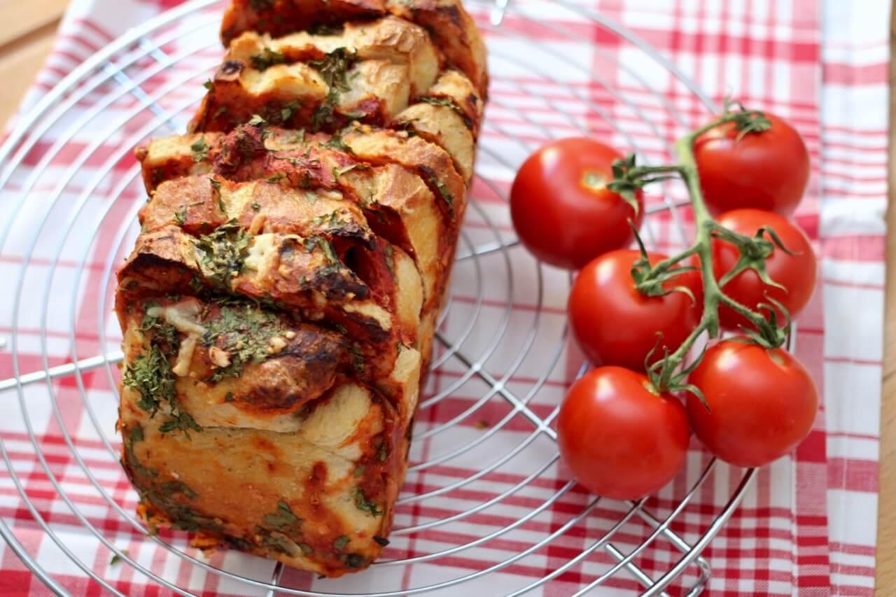 Rezept für Tomatenbrot