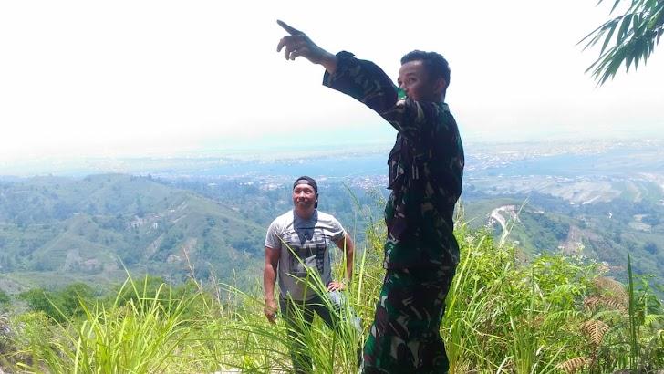 Bukit Pematang Gelanggang Cocok Untuk Olah Raga Paralayang