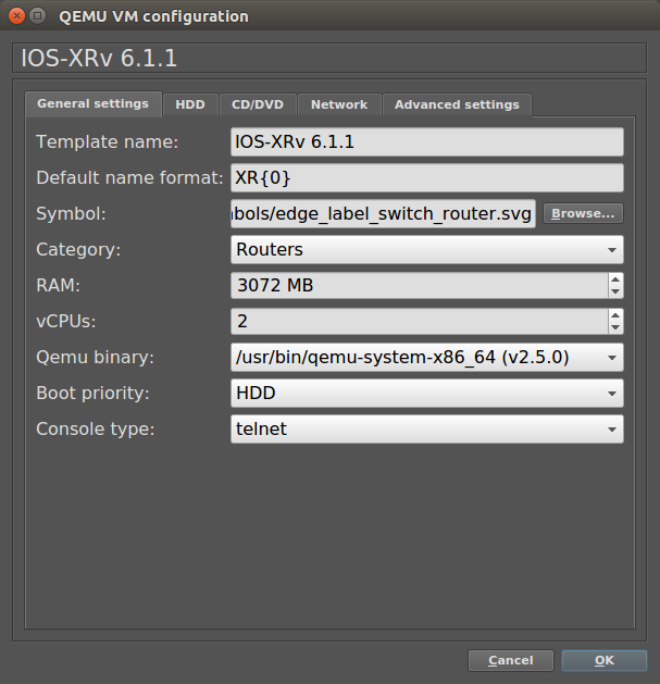 How to add IOS-XRv to GNS3 | Andras the Techie