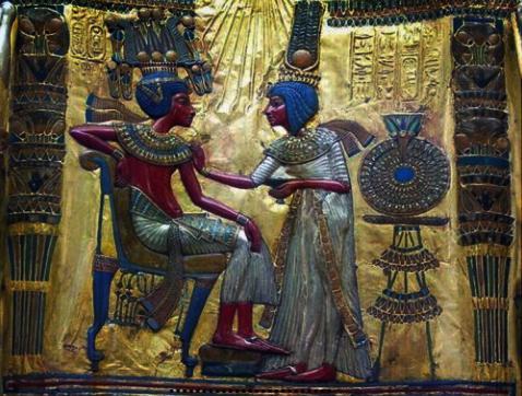 Anjesenamón, la esposa de Tutankamón