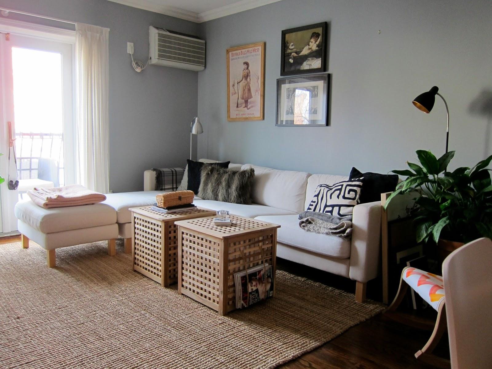 Alive & Kicking Apartment Challenge Replacing Sofa Legs part 1