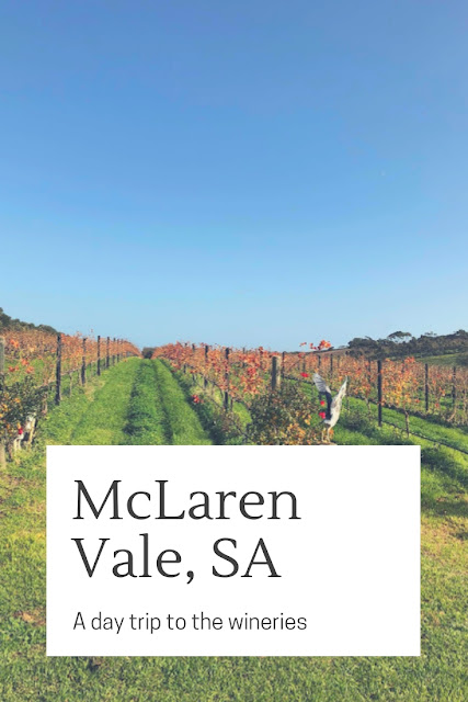 McLaren Vale in South Australia is a short drive from Adelaide and the perfect place for a day trip, tasting wines and eating delicious food!